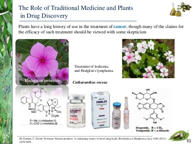 History Of Natural Products In Medicine