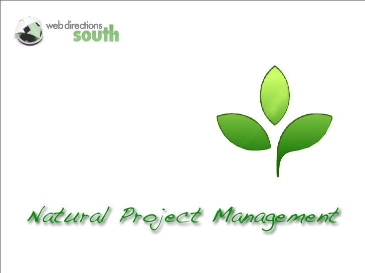 Natural Project Management