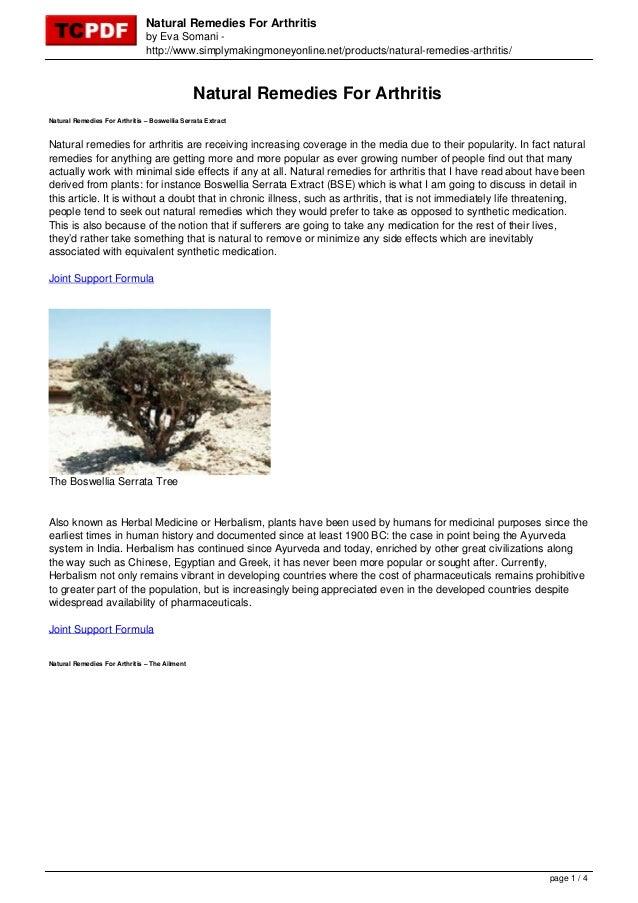 Natural Remedies For Arthritisby Eva Somani -http://www.simplymakingmoneyonline.net/products/natural-remedies-arthritis/Na...