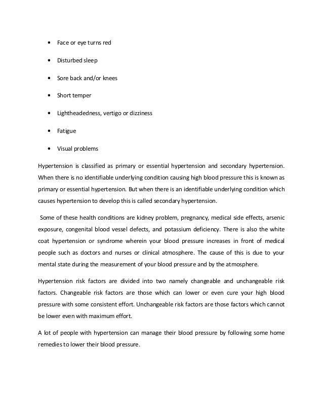 Natural remedies for hypertension Slide 2