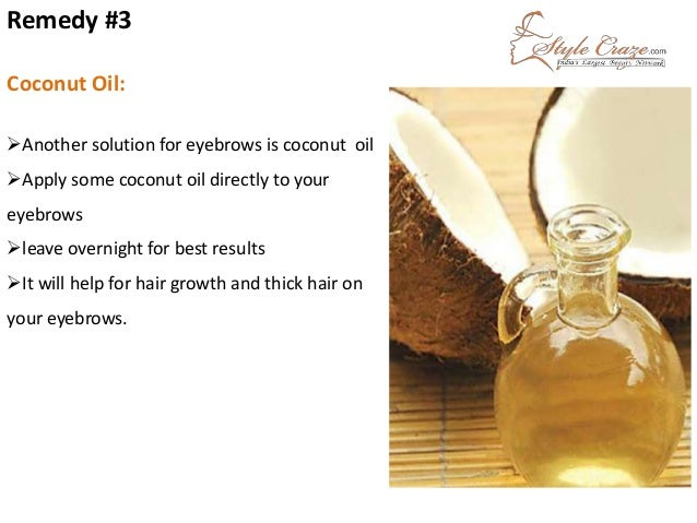 Natural Remedies To Get Thicker Eyebrows - Get thicker eye brows naturally eyebrow growing tips