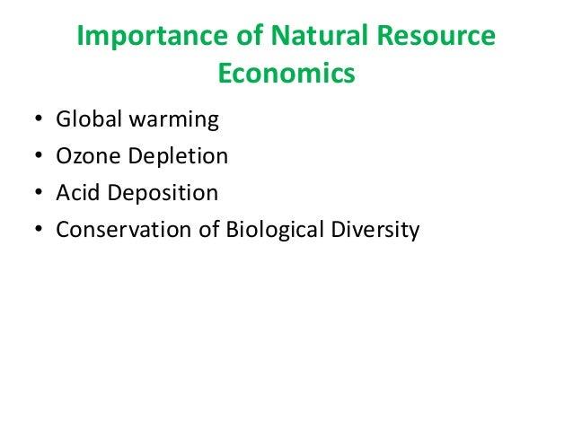 Natural Resource Economics An Introduction