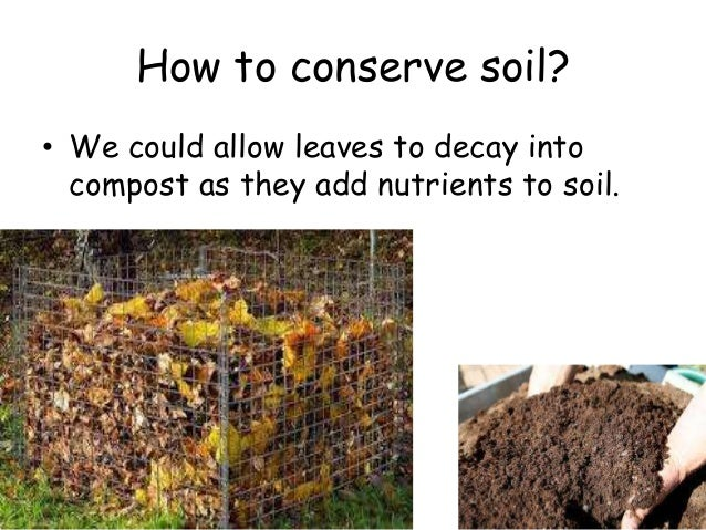 Natural resources for About soil resources