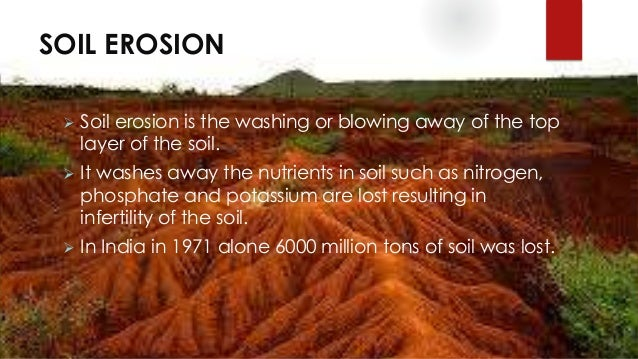 Natural resources conservation its depletion for What is soil resources