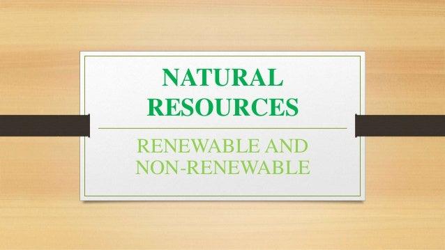 natural resources 1 638