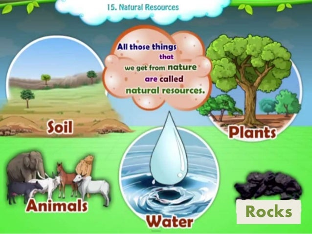 uses of natural resources