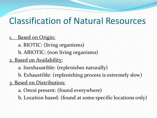 Natural Resources Effect On Economy