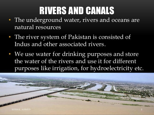 natural resources of pakistan essay Globally, fisheries are being overfished and pollution, environmental degradation and rapid development further compound the stress on these natural resources.