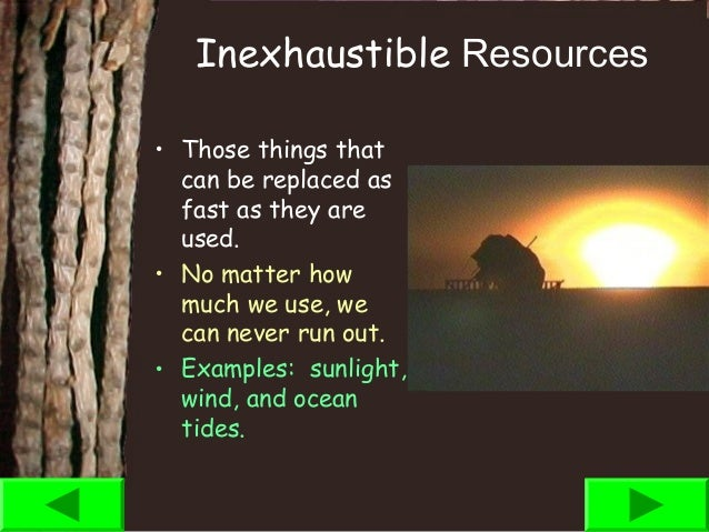Is Natural Gas An Inexhaustible Resource