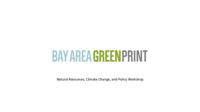 Natural Resources, Climate Change, and Policy Workshop