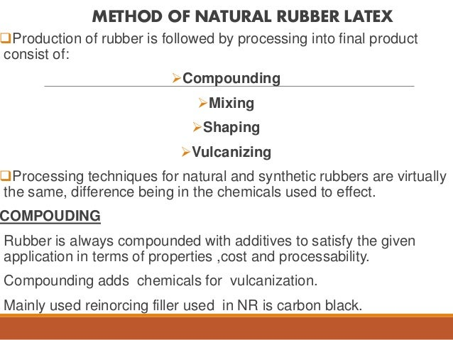 Application of nutral latex