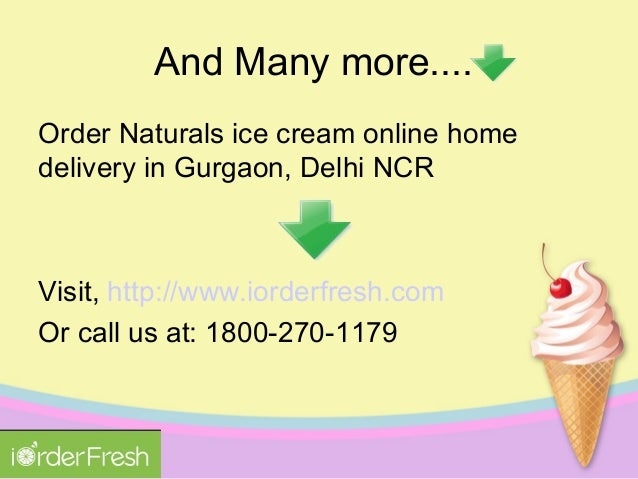 Naturals Ice Cream Home Delivery