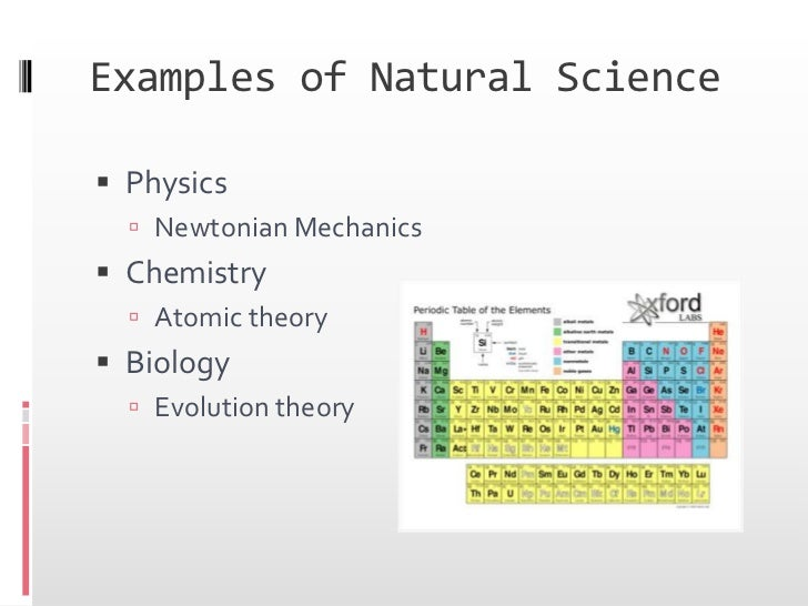 Is Physics A Natural Or Physical Science