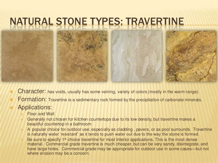 Types Of Natural Stone Floors Carpet Review: stone flooring types