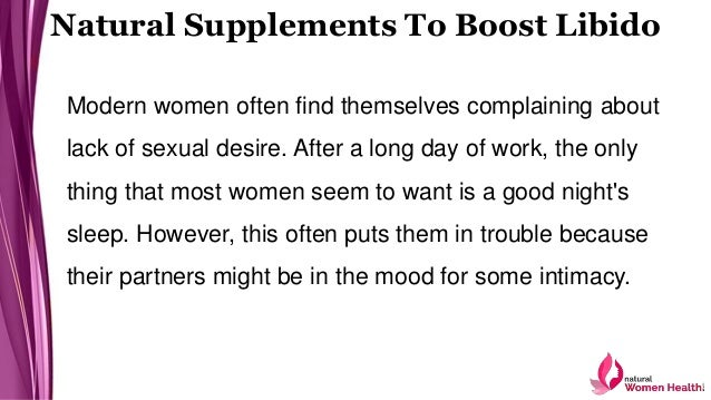 Enchance womens sexual desire