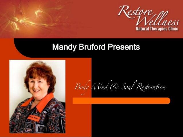 Mandy Bruford Presents