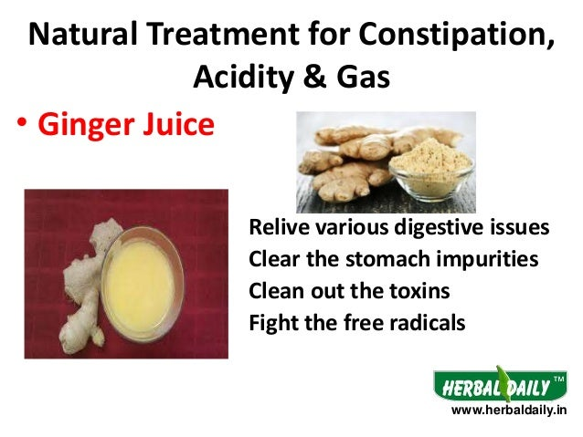 Natural Treatment For Gas And Constipation