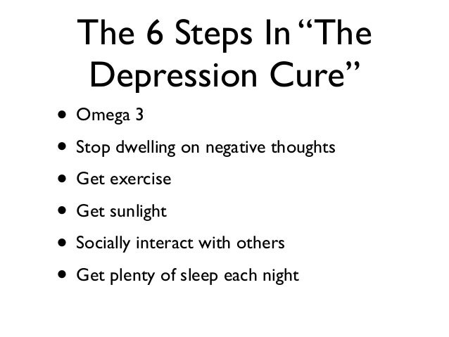 How To Manage Depression Without Meds