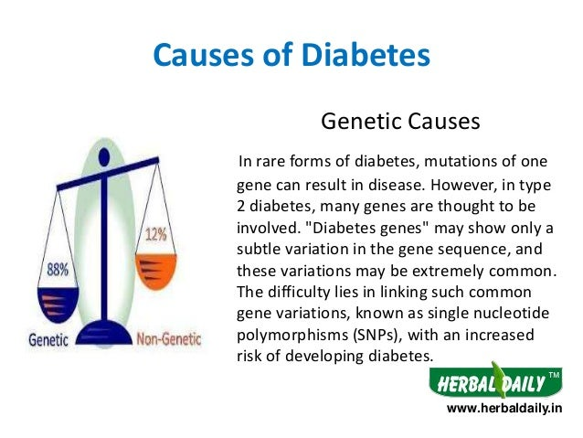 causes symptoms and treatment for diabetes The most common diabetes symptoms include frequent urination, intense thirst and hunger, weight gain, unusual weight loss, fatigue, cuts and bruises that do not heal, male sexual dysfunction, numbness and tingling in hands and feet.
