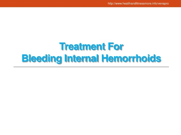 Natural Treatment For Hemorrhoids Venapro Review
