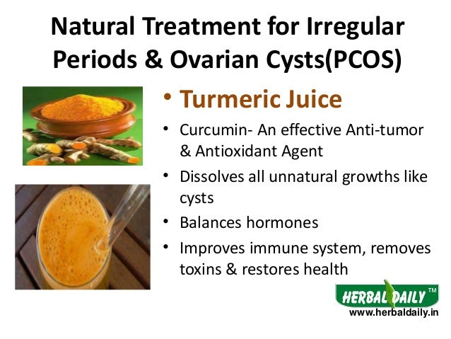 Natural Treatment For Pcos To Get Periods