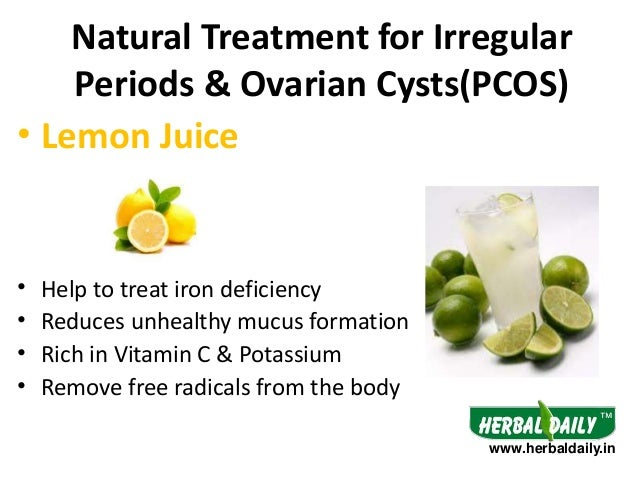 Best Natural Treatment For Irregular Periods
