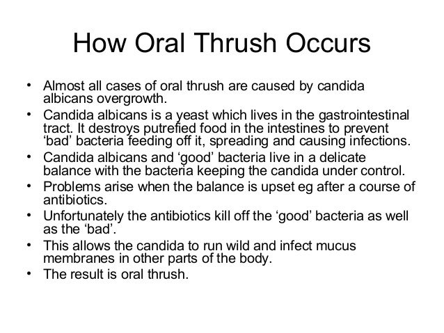 home remedies for oral thrush caused by antibiotics