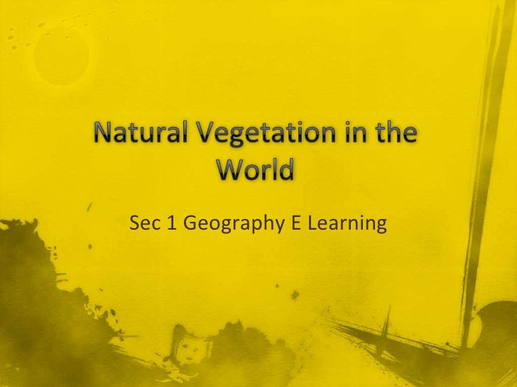 Sec 1 Geography E Learning
