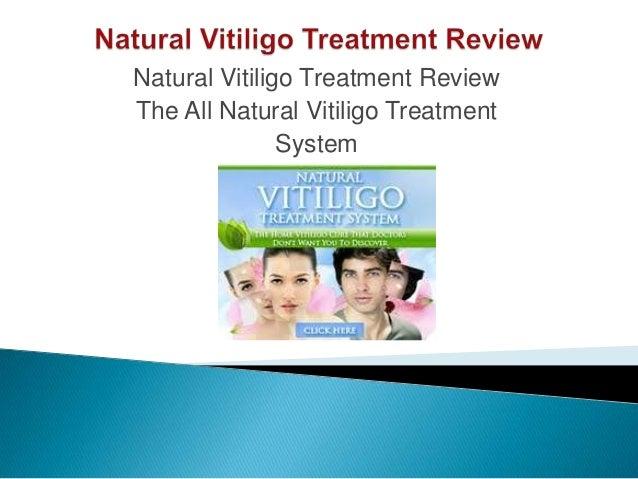 Natural Vitiligo Treatment System Pdf