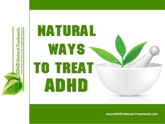 Natural Ways For Treating ADHD