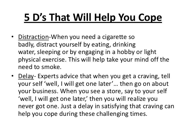 Ways To Distract Yourself From Smoking