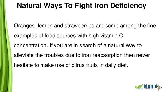 Natural Ways To Increase Iron Intake
