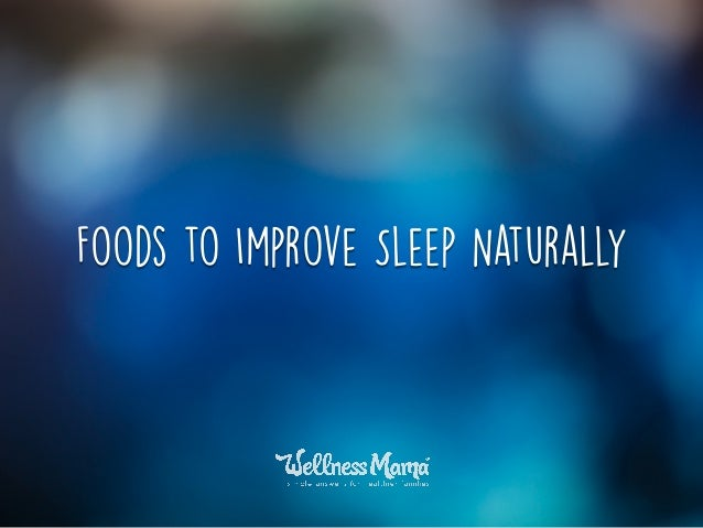 Natural Ways To Go To Sleep And Stay Asleep
