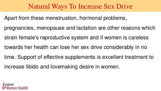 Natural ways to increase sex timing