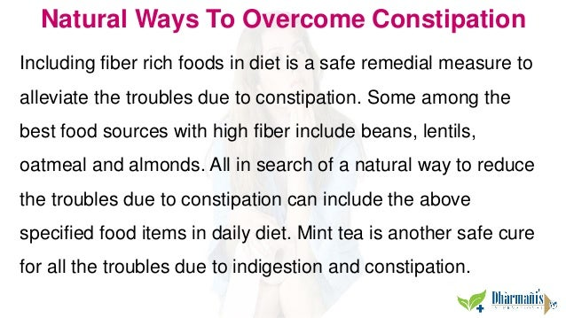 Best Way To Get Rid Of Constipation Naturally