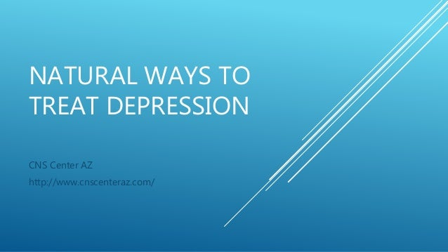 homeopathic ways to treat depression