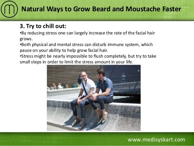 how to make beard and mustache grow faster