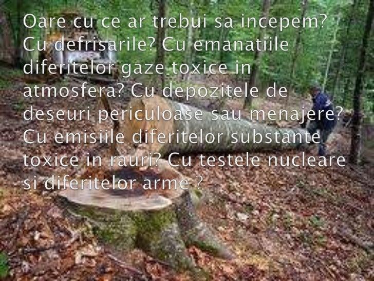 Natura si echilibrul sau
