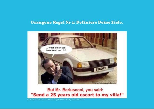 Orangene Regel Nr 2: Definiere Deine Ziele.Quelle:http://www.meetup.com/Movimento5stelleAL/files/?sortBy=size&sortOrder=as...