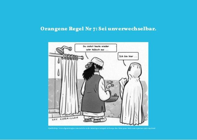 Orangene Regel Nr 7: Sei unverwechselbar.  Quelle:http://www.hgsavinagiac.com/article-voile-islamique-integral-et-burqa-de...