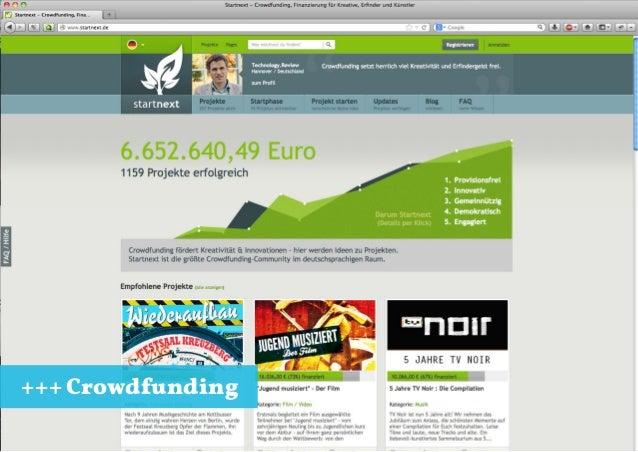 +++ Crowdfunding Jungunternehmertag Konstanz 31.10.2013 +++ Crowdfunding vs. Loudmoaning +++ 27.10.2013 +++ 6