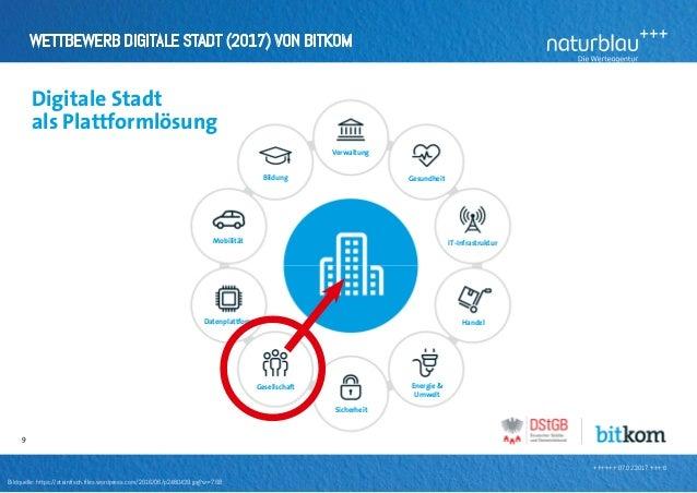 ++++++ 07.02.2017 +++ 6 Wettbewerb Digitale Stadt (2017) von bitkom Bildquelle: https://steinfisch.files.wordpress.com/2...