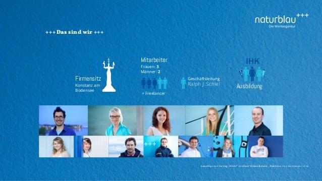 """naturblau +++ Vortrag """"Werte"""" +++Freie Waldorfschule - Wahlwies +++ 26.10.2016 +++ 10 +++ Das sind wir +++ Ausbildung Mita..."""
