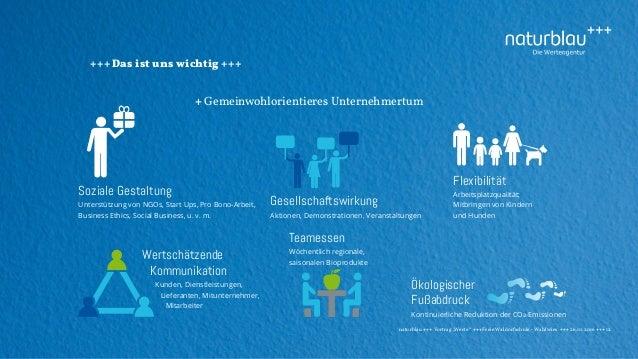 """naturblau +++ Vortrag """"Werte"""" +++Freie Waldorfschule - Wahlwies +++ 26.10.2016 +++ 12 +++ Das ist uns wichtig +++ + Gemein..."""
