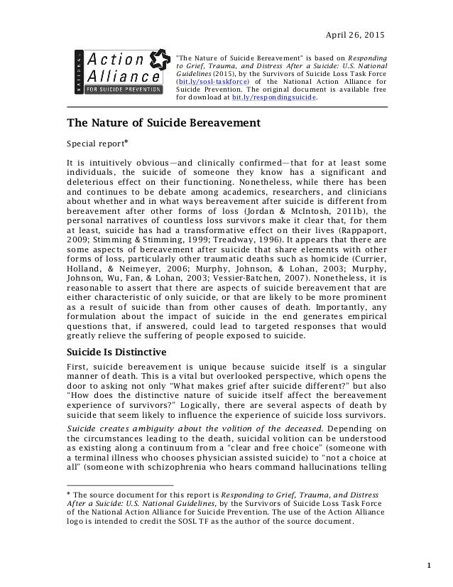 essay suicide prevention