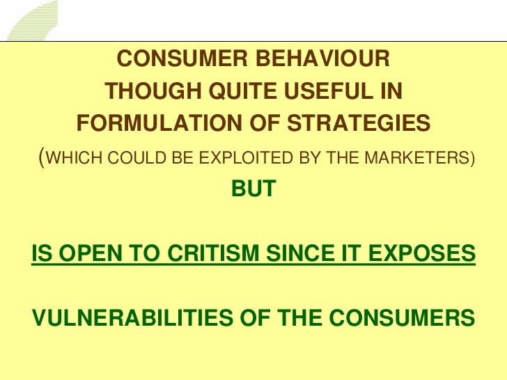 nature of consumer behaviour While such concerns are more traditional in nature,  consumer behaviour and brand preferences is much  associated with consumer purchasing behaviour,.