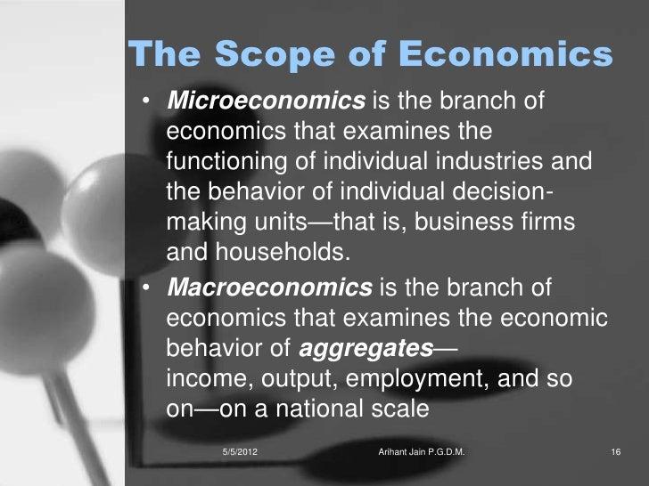 Nature and scope of economics essay paper