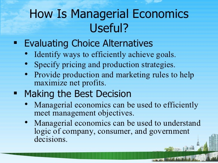 Business Economics: Definition, Characteristics and Scope