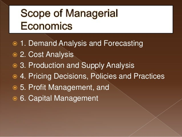 the scope of economic analysis Lecture 1: scope of statistical methods for economic analysis ecn 2331 statistics: theory and techniques for economics structure nature of statistics.