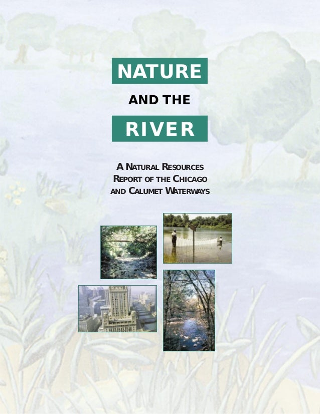 NATURE AND THE RIVER A NATURAL RESOURCES REPORT OF THE CHICAGO AND CALUMET WATERWAYS